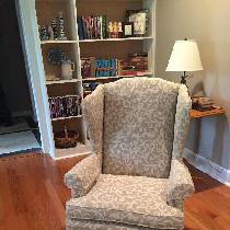 Wingback chairs... Turned out great!