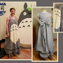 My Neighbor Totoro Dress - My local sci-fi convention is in early July, so I wanted a costume th...