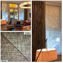 Tetra Heavy Weight Linen Drapes 16 ft wide x 12 ft High they have 4 widths (Total 34 yds.) in ea...