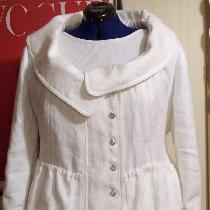 Annette, Lined jacket made from (prewashed/dried)...