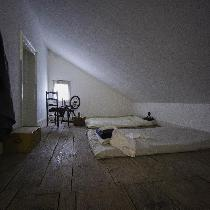 Raynham Hall Museum in Oyster Bay asked me to re-create an 18th century slave attic bedroom. Lin...