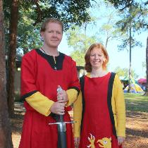 Crissy, 12th century Germanic paired tunics for...