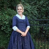 Robe a l'anglaise en fourreau - 18th Century Gown