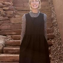 I designed this oversized linen dress made with medium weight linen after being inspired by the...