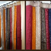 Ellie, Linen curtains in a variety of shades of...