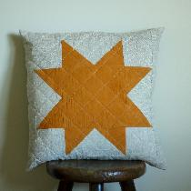 Rebekah, Dyed cotton star with Marigold flowers,...