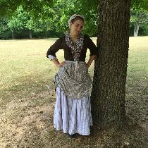 Aly, Revolutionary War Woman on the Ration -...