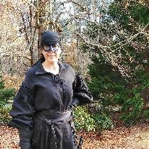 Dawn, Dread Pirate Roberts costume (from the m...