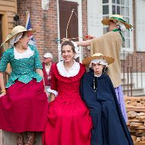 I made this dress for a trip to Colonial Williamsburg this past spring. It's my favorite 18th ce...