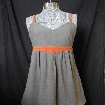 Tunic and Skirt made of 100% fabrics-store's linen