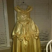 Janice, Belle Costume from Beauty and The Beast