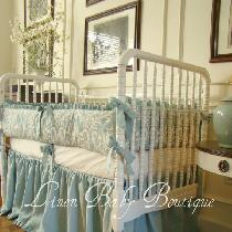 This set was made with IL019 Medium Weight linen in the color