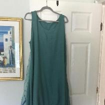Boho Chic dress out of mid weight linen