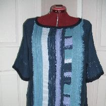 A tunic in boho style.