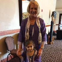 I made these dresses & jackets for my granddaughter and myself from fabrics-store.com linens...