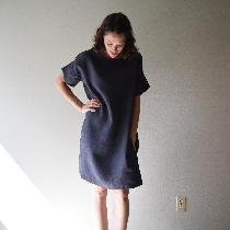T-shirt dress w pockets www.etsy.com/shop/shieldsdesignhouse