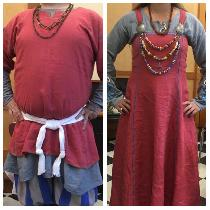 Coronation Garb for Their Majesties, Oz and Marisa  (Caid, Society for Creative Anachronism)....
