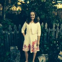I am 13 years old and made this lined pink linen dress and jacket in my 4H sewing group.  I also...