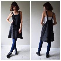Artist smock made w blk medium weight. www.etsy.com/shop/shieldsdesignhouse