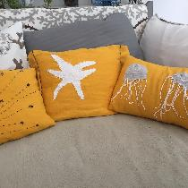 Pillows for a 'pop' of color