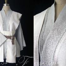 Romy, Jedi Robes~  mid-weight linen with hand...