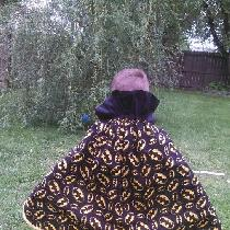 Grandson is a huge fan of Batman and wanted a cape in a hurry. I looked through the material I h...