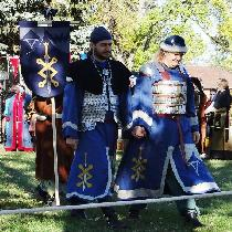 This was a momentous day for us as we both entered our first Crown Tournament for the SCA. To ma...