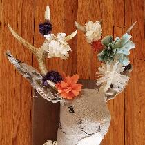 This is a wedding gift for my best friend, who wears flowers in her hair and adores fantastical...