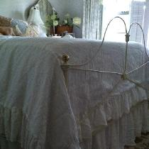 Full Size Washed Linen Bedding