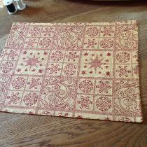 Placemats I made from the snowflake design IL062 Jacquard linen. It was easy to cut accurately,...