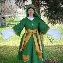 Front of the Ottoman Pants, shirt, hirka and Entari- with Reverse Applique
