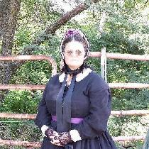 I am a civil war reenactor. I used the black linen and cotton blend to create this sympathetic m...