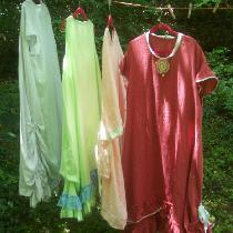 Vickie, Four new dresses for my wardrobe in diff...